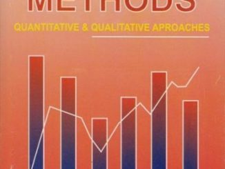 Research Methods – Quantitative & Qualitative Approaches