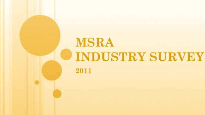 MSRA Industry Survey 2011