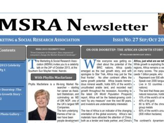 MSRA 2013 Newsletter Issue 27
