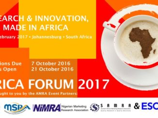 AMRA Forum 2017 - Call for Speakers