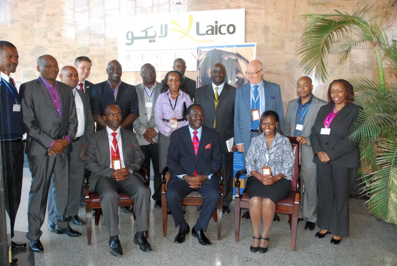 MSRA Conference 2012 - Council photo with PM Raila Odinga