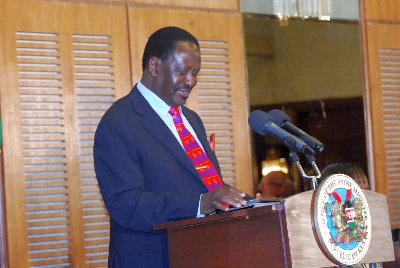 MSRA Conference 2012 - Hon Prime Minister Raila Odinga speech during conference
