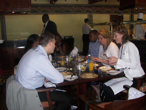 MSRA Conference 2011 - Lunch time conversation