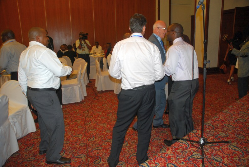 MSRA Conference 2012 - Members relaxing after dinner