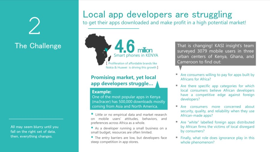 Building Mobile Apps That Impact African Consumers (Cameroon, Ghana & Kenya) - slide 4
