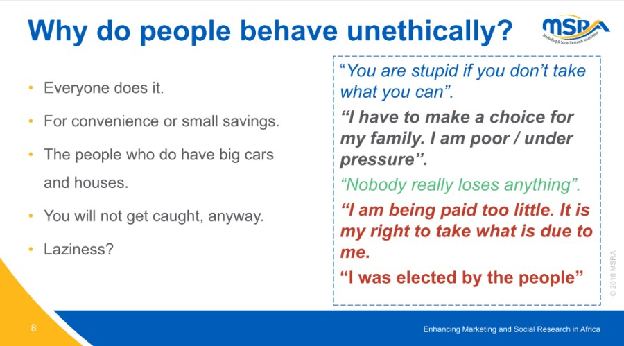Quality Research Ethics - slide 8