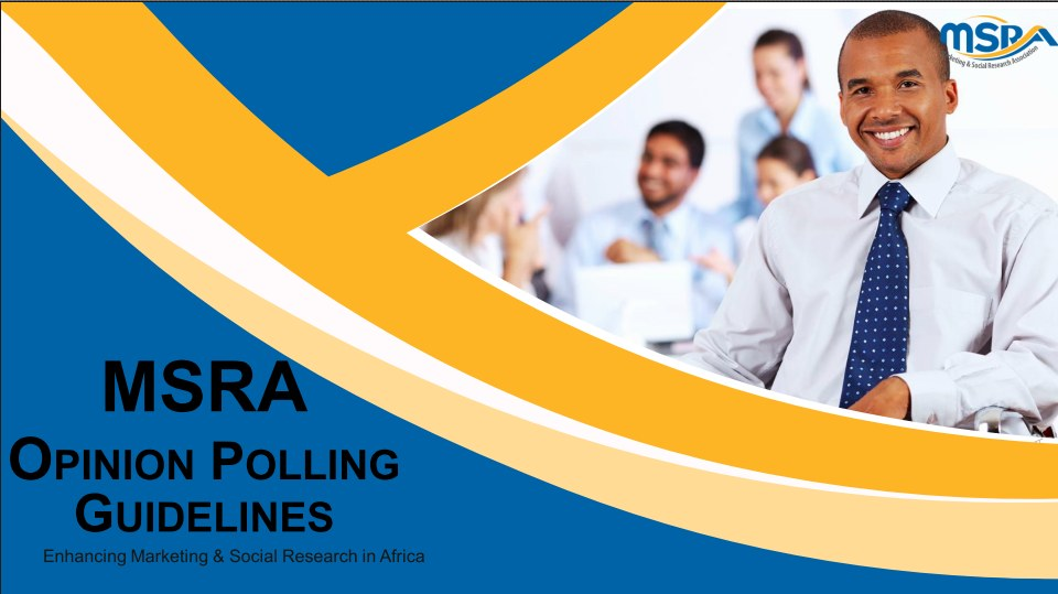 MSRA Opinion Polling Guidelines