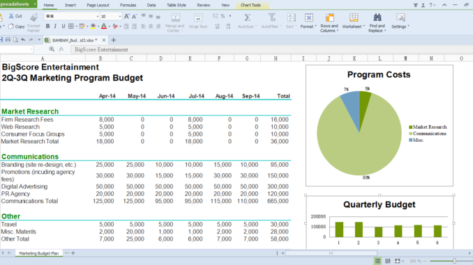 WPS Office - Spreadsheets