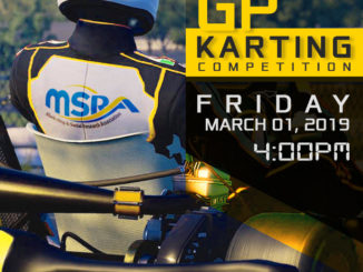 MSRA 2019 GP Karting Grand Prix flyer