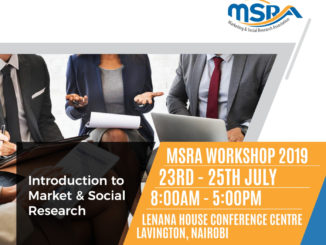 Introduction to Market & Social Research